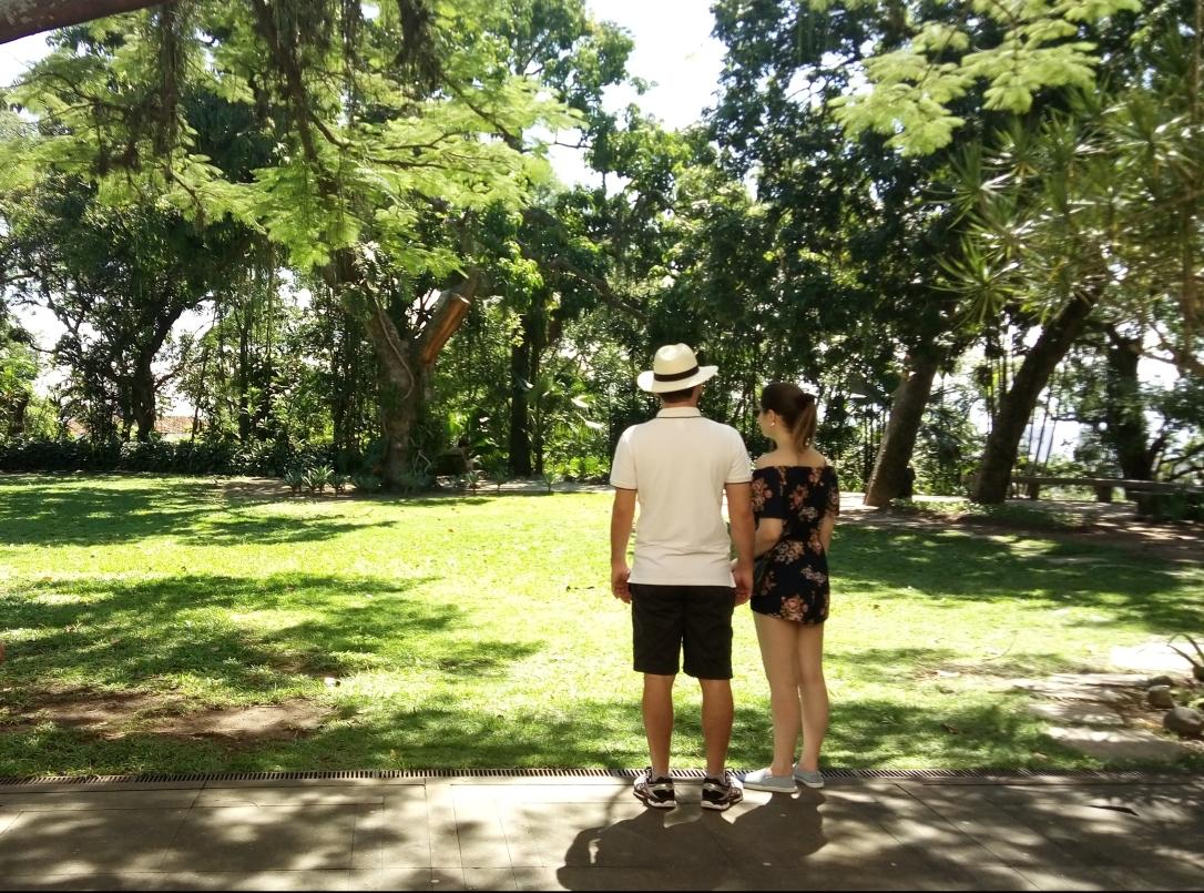 Casal em Parque das Ruínas