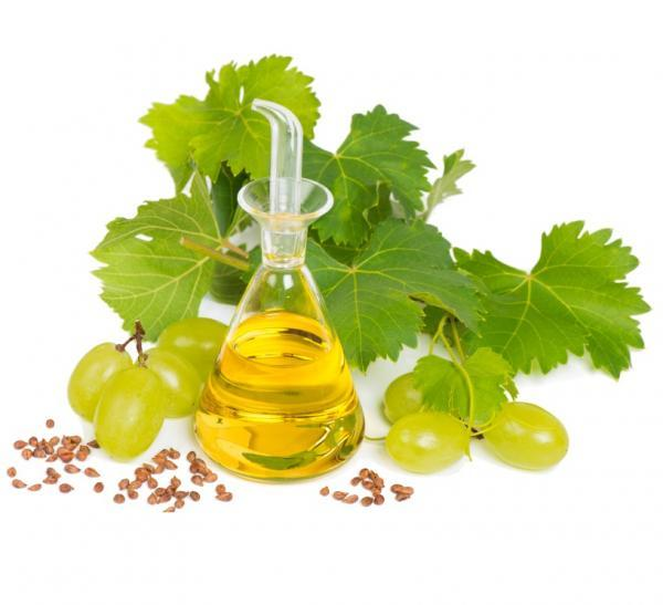 óleo da semente de uva