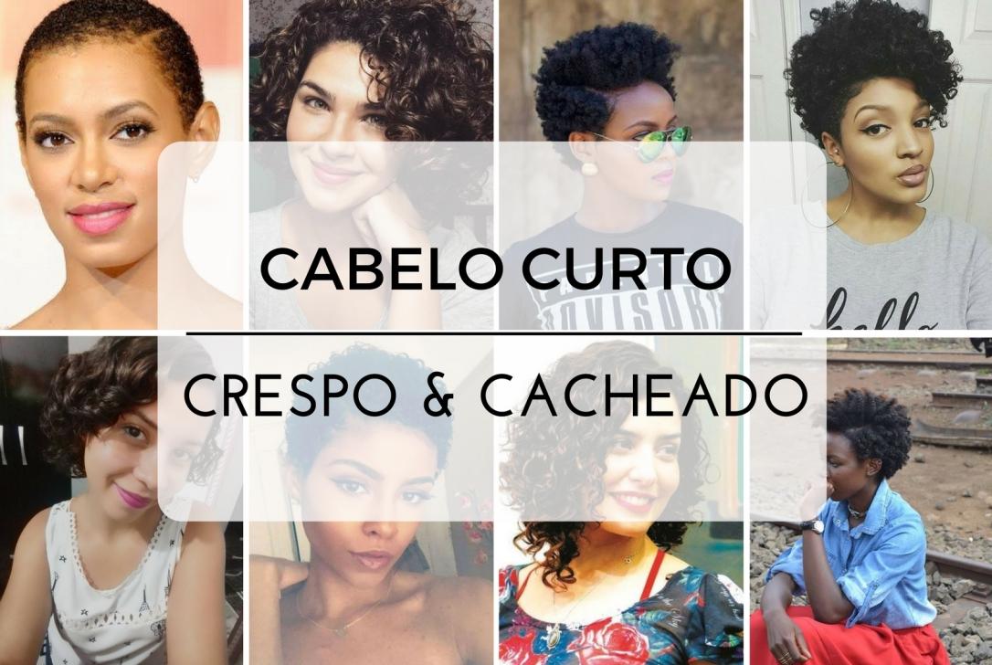 Inspirações de cabelos curtos cacheados e crespos - Cida Cachos