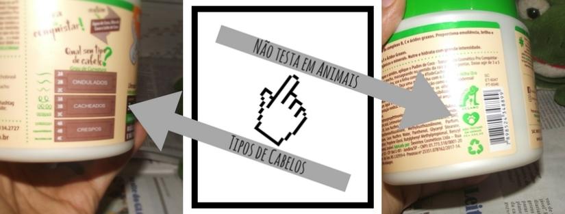 Não testa em animais - Tipos de Cabelos - Blog Cida Cachos