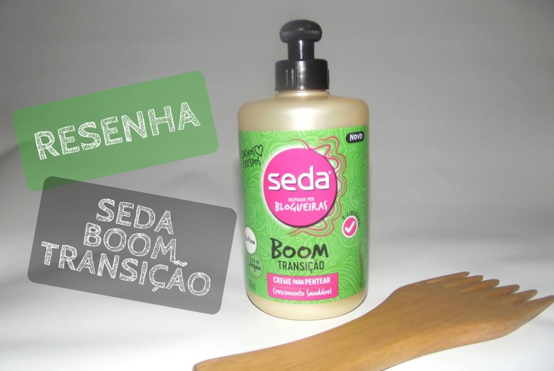 Resenha - Seda Boom Transição - Blog Cida Cachos
