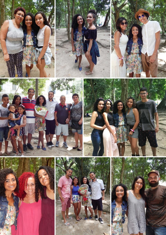 Pic Nic de 1 ano de Blog Cida Cachos - Participantes
