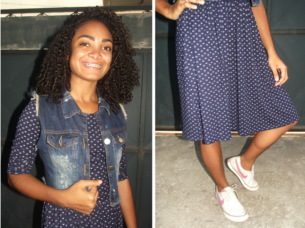 Look do dia - Cida Cachos